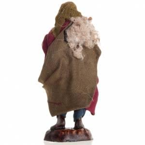Neapolitan nativity figurine, piper 8cm s3