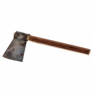 Neapolitan Nativity scene accessory, axe, 4 cm s1
