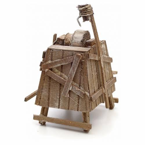 Neapolitan Nativity scene accessory, knife-grinder stall s3
