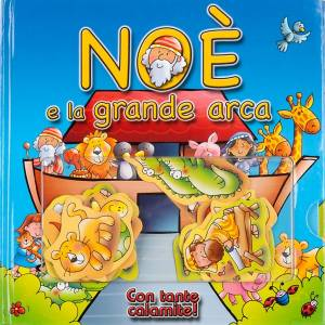 Libri per bambini e ragazzi: Noè e la grande arca, con tante calamite