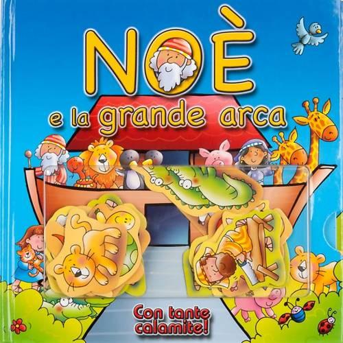 Noè e la grande arca, con tante calamite s1