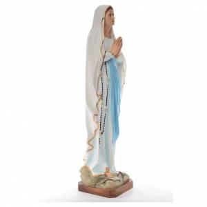 Nuestra Señora de Lourdes 100 cm. fibra de vidrio coloreada s4