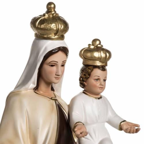 Nuestra Señora del Monte Carmelo en resina 60cm s3