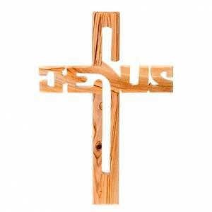 Olive wood Jesus crucifix s1