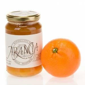Orange marmalade 400 gr of the Vitorchiano Trappist nuns s1