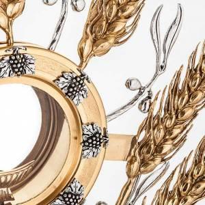 Ostensoirs, Reliquaires  en métal: Ostensoir épis dorées