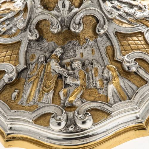 Ostensorio pietre e angeli s4