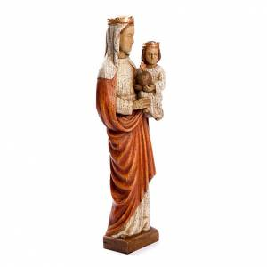Hand painted wooden statues: Our Lady crowned