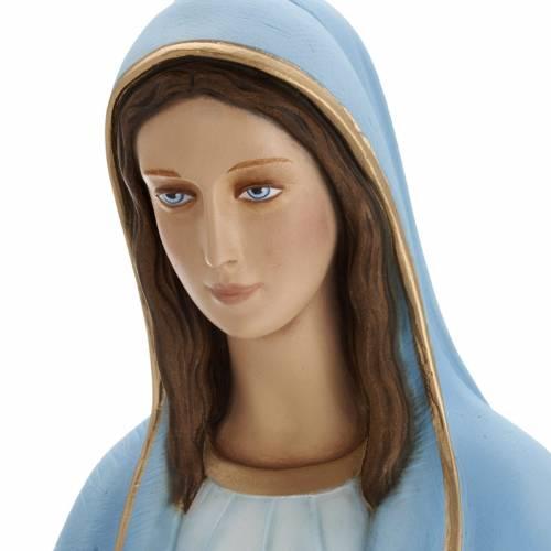 Our Lady of grace fiberglass statue 80 cm s5