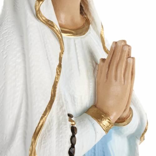Our Lady of Lourdes, fiberglass statue, 70 cm s7