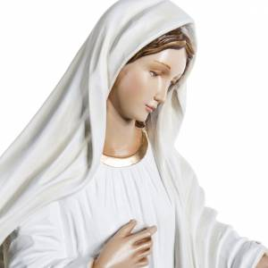 Our Lady of Medjugorje statue in painted fiberglass, 130cm s6