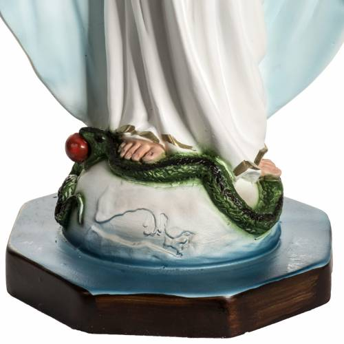 Our Lady of Miracles statue in resin, 40 cm s3