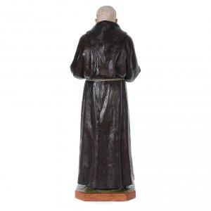 Padre Pio of Pietralcina statue in fiberglass, 175 cm by Landi s4