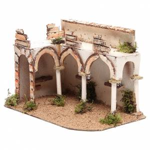 Palazzo con portico arabo 28x17xh.19 cm s2