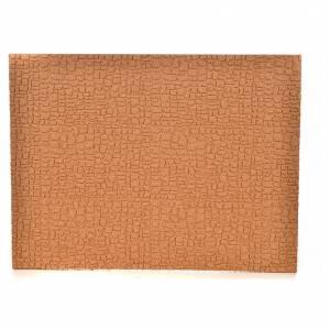 Sfondi presepe, paesaggi e pannelli: Pannello in sughero muro/selciato 33X24,5X1