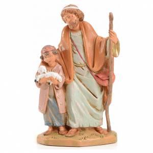 Statue per presepi: Papa e Misham 12 cm Fontanini edizione limitata anno 2004