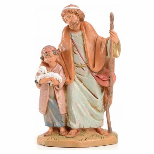 Papa y Misham 12 cm Fontanini Edición limitada 2004 s1