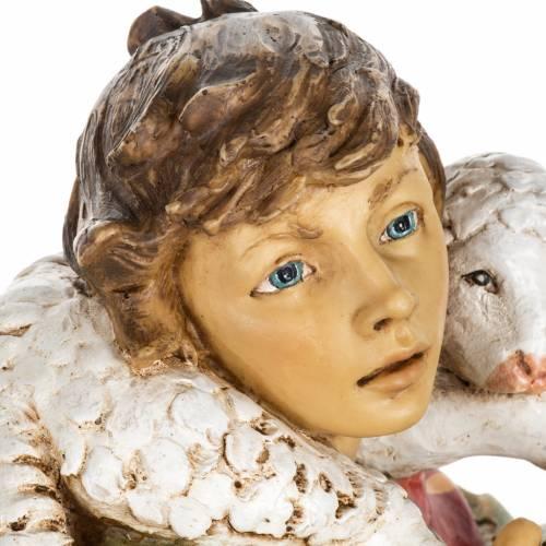 Pastor con ovejas 65 cm. pesebre Fontanini s5