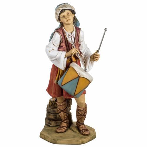 Pastor con tambor 125 cm. Fontanini s1