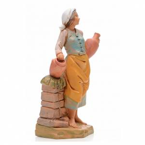 Pastora con jarrones 17 cm Fontanini s2