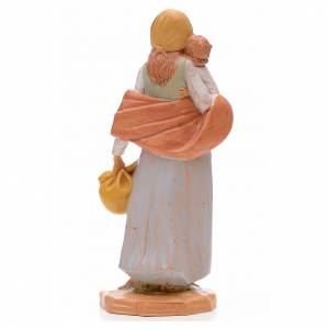 Pastora con niño 17 cm Fontanini s3