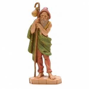 Statue per presepi: Pastore con bastone cm 12 Fontanini