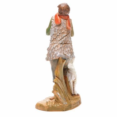 Pastore con pecora per presepe 19 cm Fontanini s3