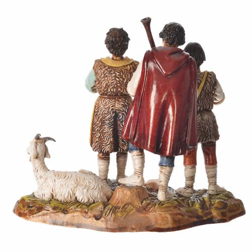 Pastorelli scena con capra 10 cm Moranduzzo s2