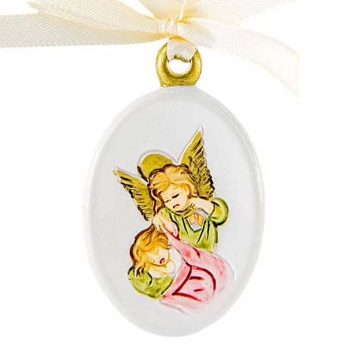 Pendant Angel oval shaped 6cm s1