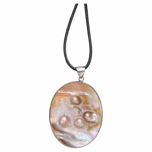 Pendant Rublev Trinity natural mother-of-pearl s2
