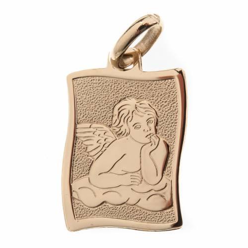 Angelo di Raffaello medaglia oro 750/00 lucido - gr.1.60 s1