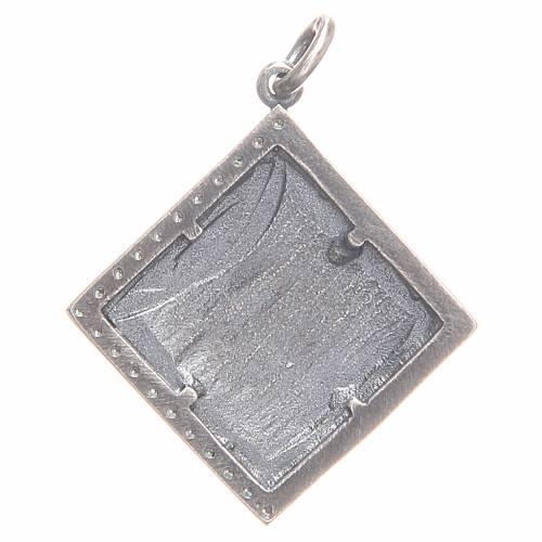 Pendentif argent 800 Agnus Dei 1,7x1,7 cm s2