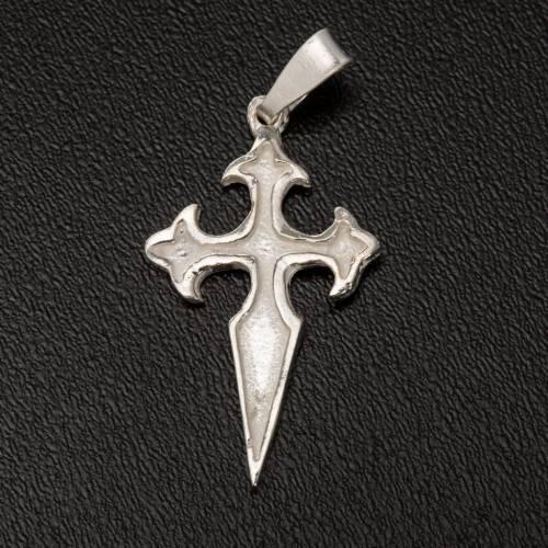 Pendete croce San Giacomo di Compostela Arg 800 s2