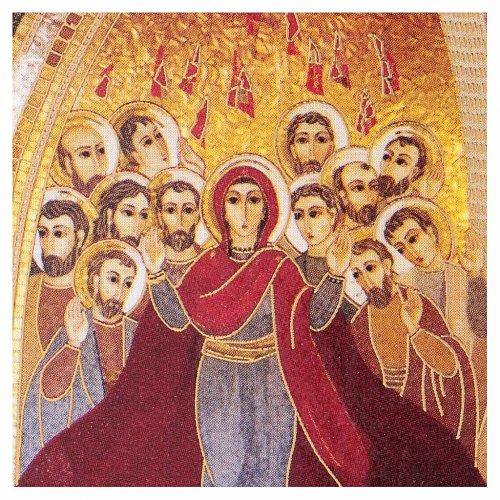 Pentecoste Rupnik stampa 5x5 cm s2