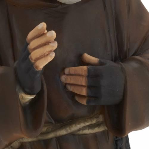 Père Pio 60 cm fibre de verre s5