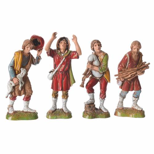 Personajes 10 cm Moranduzzo 8 figuras s2
