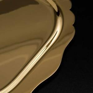 Piattino messa ottone dorato s3