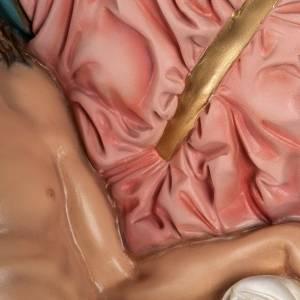Pietà di Michelangelo 100 cm marmo sintetico colorato s5