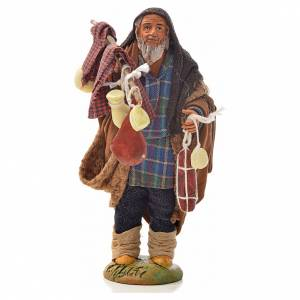 Pilgrim with cold cuts and cheeses 14 for nativity set s1