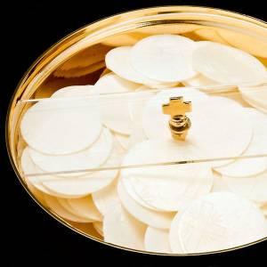 Cálices, Copones y Patenas metal: Copón tapa giratoria polimetacrilato