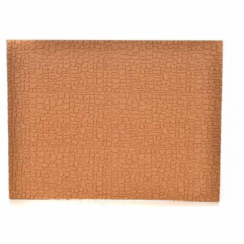 Plancha corcho muro/empedrado cm. 33x24.5x1 s1