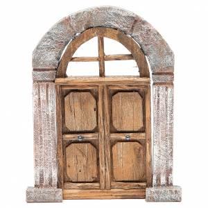 Porta arco e colonne per presepe 22X14 cm s1