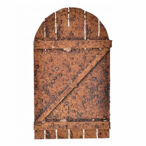 Porta presepe legno ad arco 12x7 s1
