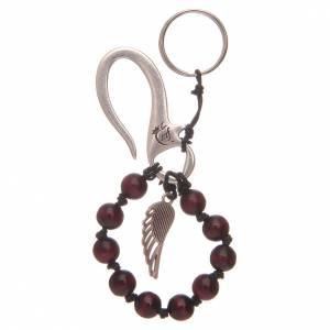 Portachiavi: Portachiavi decina rosario ala angelo