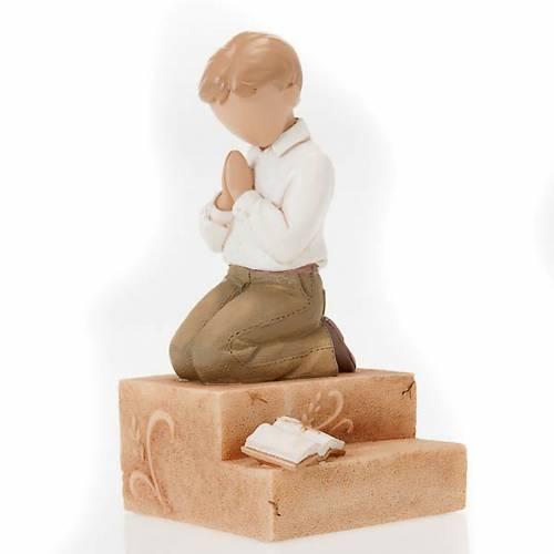 Praying boy figurine Legacy of Love s1