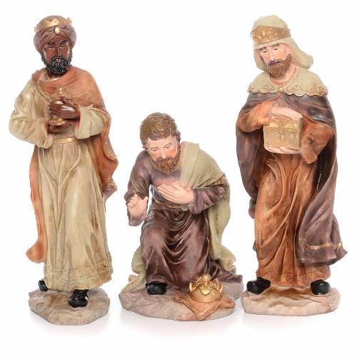 Presepe completo resina cm 50 - 11 statue s4