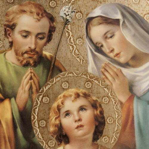 Print on wood, Bellazzi's Holy Family s2