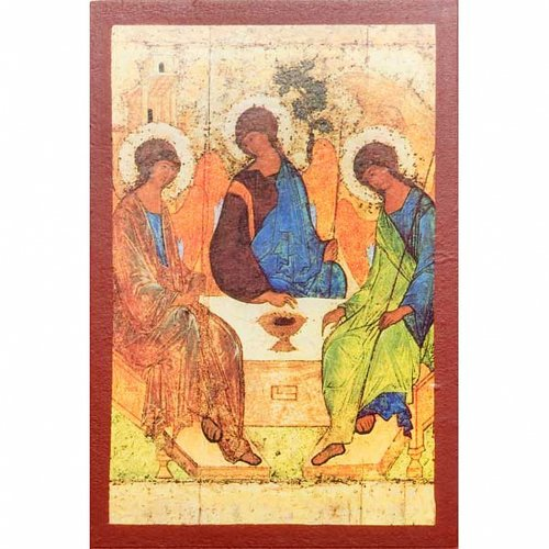 Printed icons Jesus, Mary, The last Supper, the Holy Trinity s6