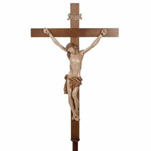 Processional crosses and stands: Processional cross in walnut wood