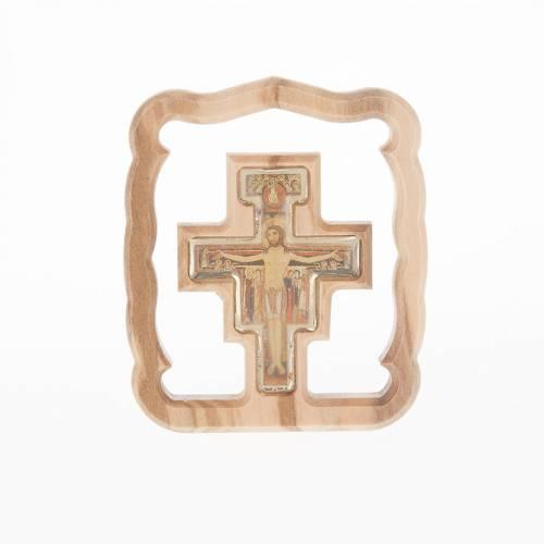 Quadretto da tavolo croce San Damiano s1